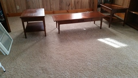 Coffee table and two end tables 75.00