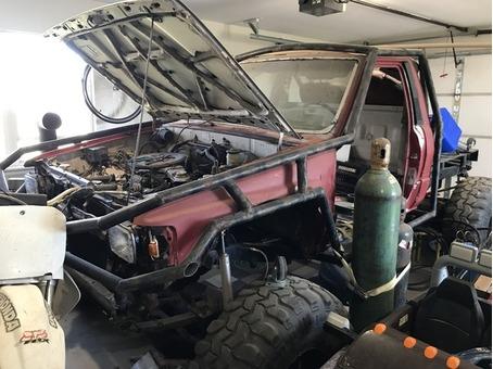 84 Toyota Rock Crawler